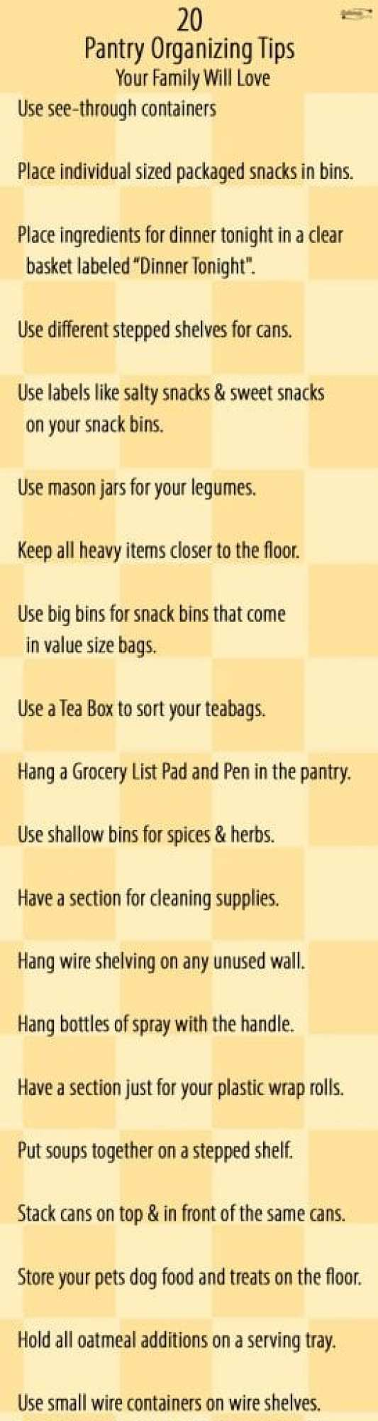 Top 20 Pantry Organizing Tips Your Family Will Love