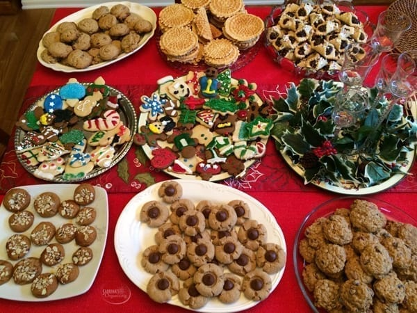 Holiday Cookies 2014