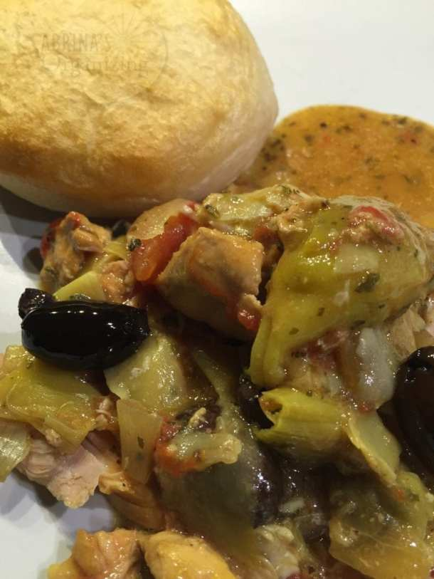 Herbed Artichoke Chicken Thighs recipe