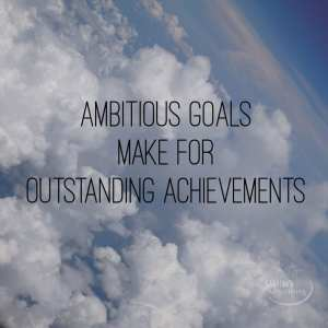 ambitious goals make for outstanding achievements by Nike