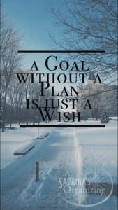 A Goal without a plan is just a wish Antoine de Saint Exupery