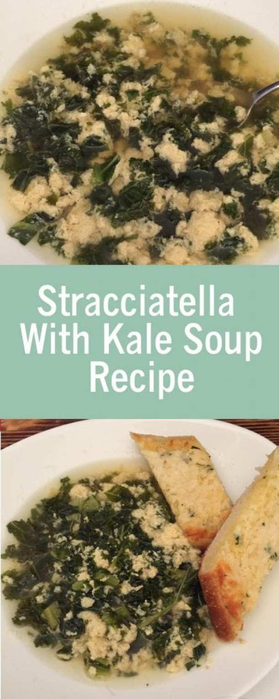 Stracciatella With Kale Soup Recipe