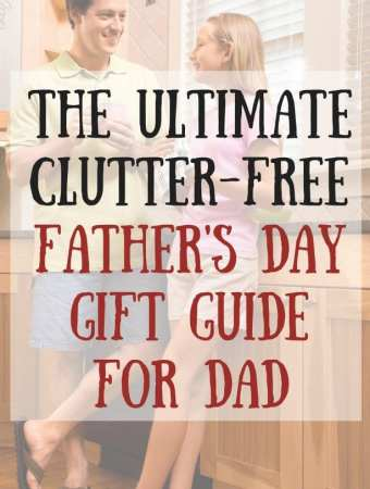 The Ultimate Clutter-free Father's Day Gift Guide For Dad