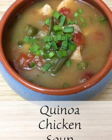 quinoa chicken soup recipe