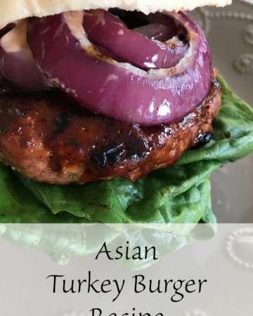Asian Turkey Burger Recipe