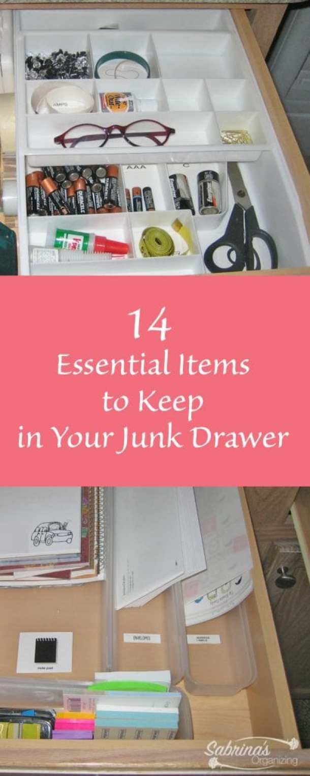 14 Essential Items to Keep in Your Junk Drawer