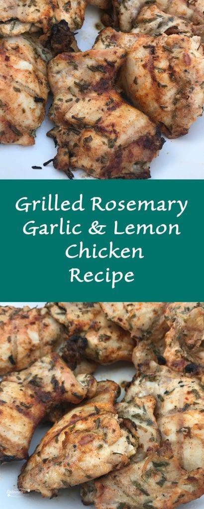 Grilled Rosemary Garlic and Lemon Chicken