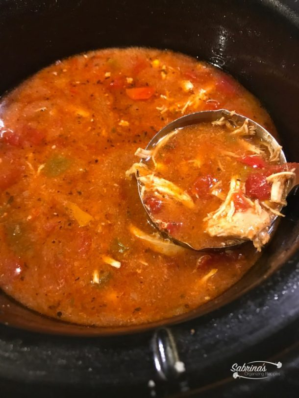 Chicken Tortilla Soup Recipe in a Slow Cooker