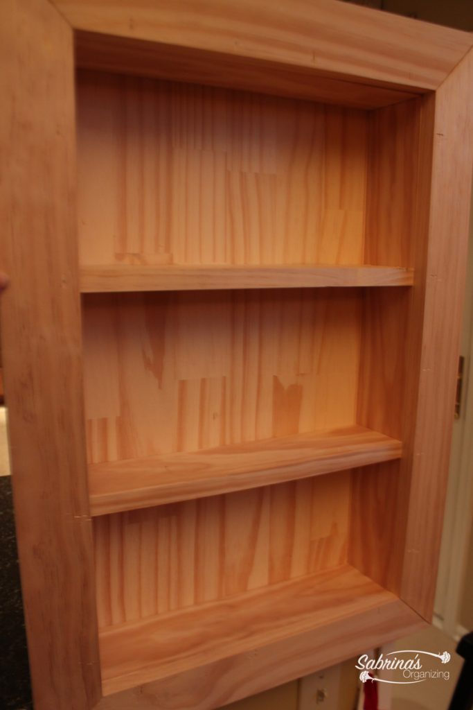 shelves in the box