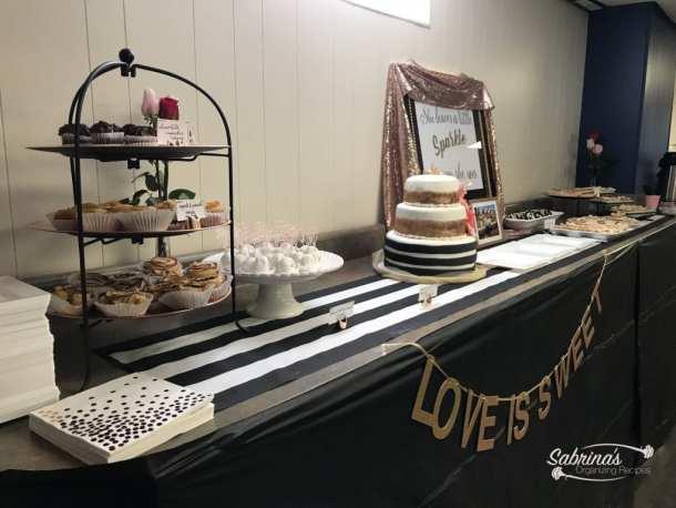dessert bar bridal shower