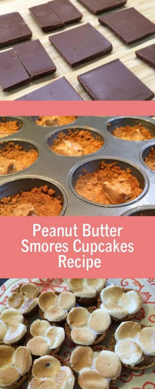 Peanut Butter Smores Cupcakes Recipe