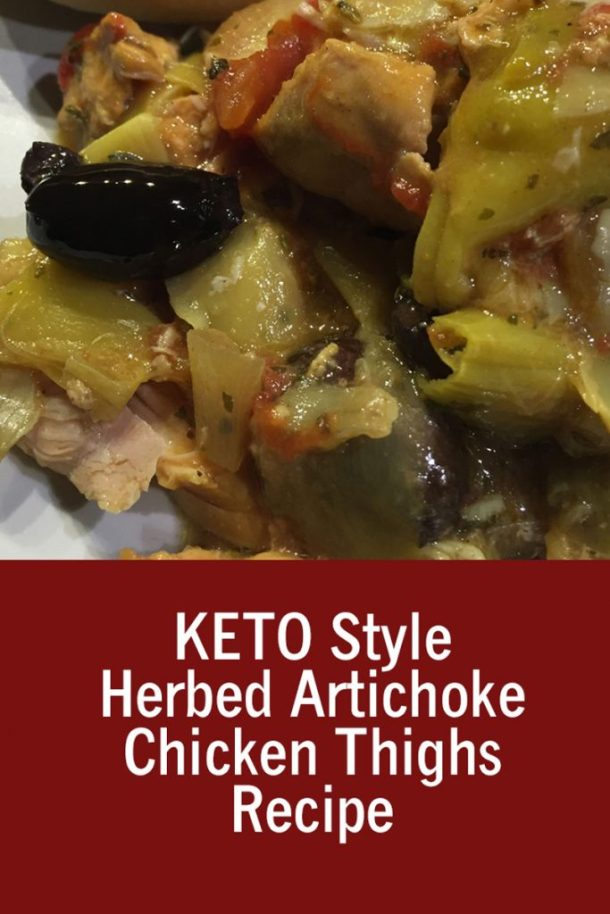 Herbed Artichoke Chicken Thighs