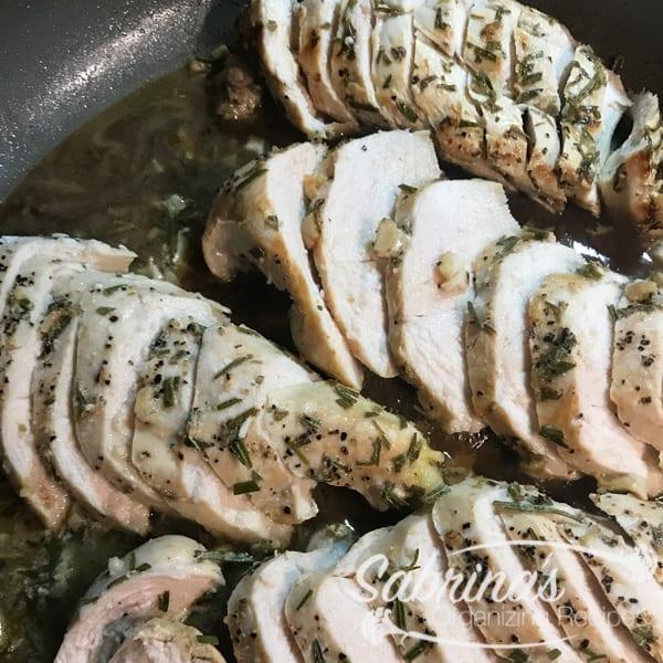 Lemon and Rosemary Chicken Breast Recipe