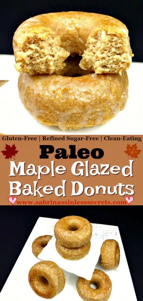 I never thought I could enjoy eating a healthy donut. That is, until these Paleo Maple Glazed BAKED Donuts came into my life! You won't believe these slightly crisp on the outside, fluffy on the inside donuts aren't deep-fried! They taste like they're full of refined sugar, but they're completely refined sugar-free, while also being gluten-free, grain-free, dairy-free, and yeast-free!