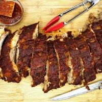 Oven-Baked Fall Off the Bone BBQ Paleo Ribs