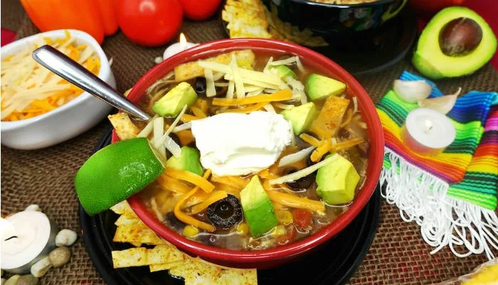Gluten-Free Slow-Cooker Tortilla Chicken Soup