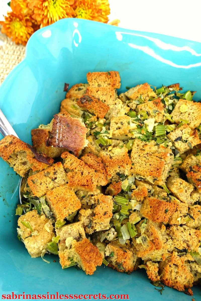 This Classic Paleo Stuffing is just like the stuffing you know—without the preservatives, additives, and GMOs. This stuffing recipe is simple to make and so rewarding, especially because it's gluten-free, grain-free, dairy-free, refined sugar-free, and clean-eating!