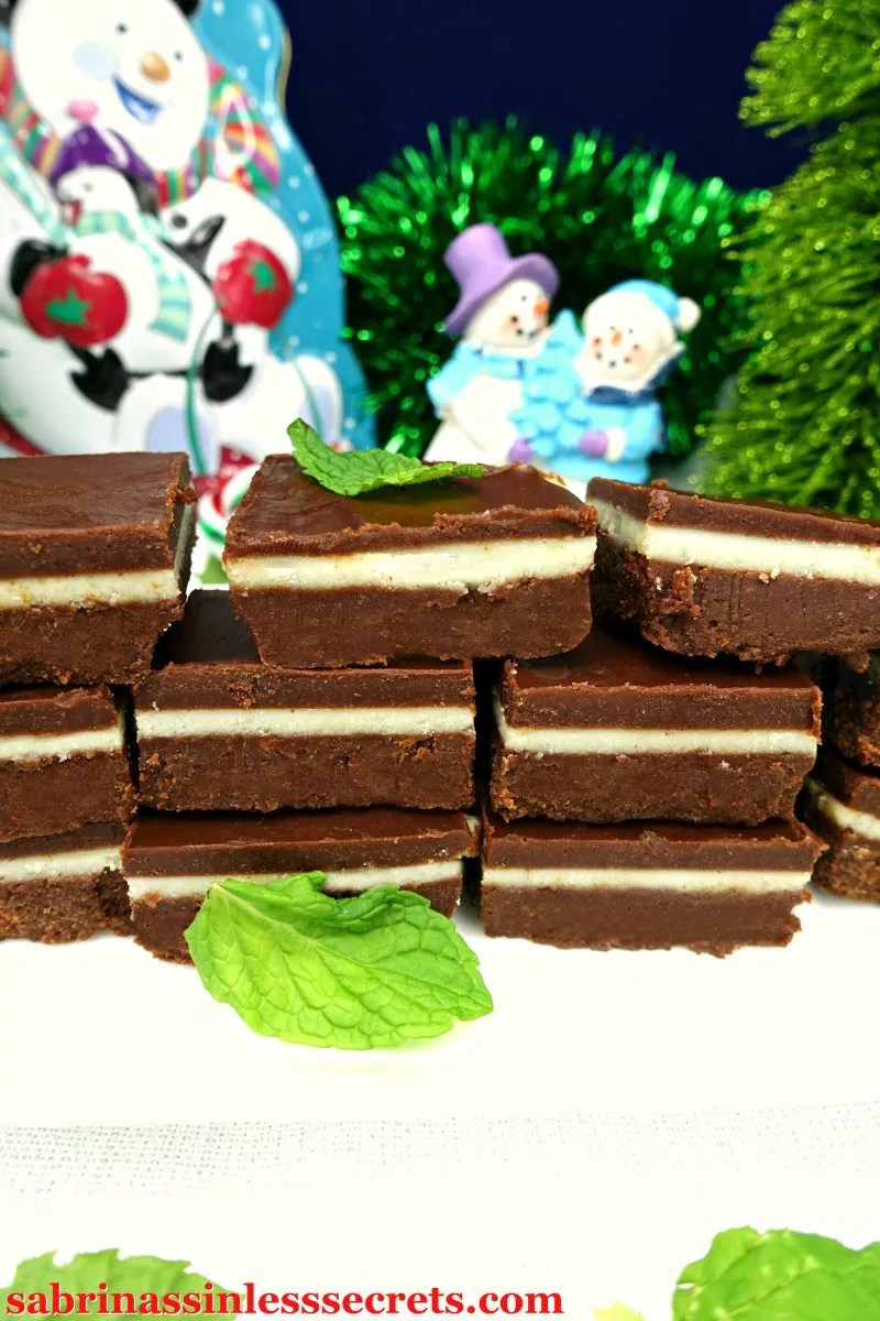 This rich, thick, and melt in your mouth Dark Chocolate Peppermint Andes Mint Paleo Fudge is everything this holiday season! A perfect combo of dark chocolate and mint come together to reenact a sinful favorite, but in fudge form! The best thing about this delicious fudge is that it's completely guilt-free, Paleo, gluten-free, dairy-free, vegan, refined sugar-free, easy to make, no-bake, and clean-eating!