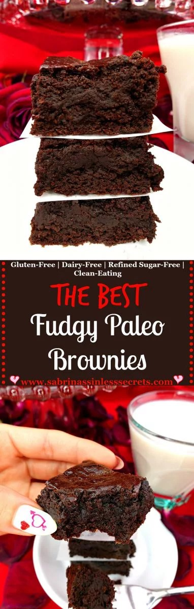 There's a reason these brownies are called The Best Paleo Fudgy Brownies—they're thick, fudgy, dense, perfectly sweetened, and exploding with chocolate flavor. Brownies are pretty undeniable on their own, but when they're Paleo, gluten-free, dairy-free, refined sugar-free, clean-eating, easy to make, and DELICIOUS there's no denying them!