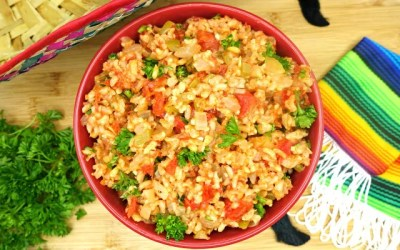 Skinny and Simple Mexican Rice