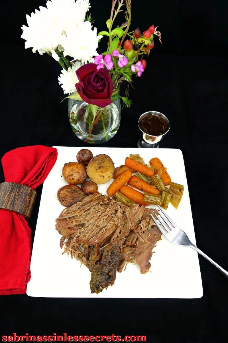 This Paleo Slow-Cooker Sirloin Tip Roast is tender, juicy, and flavorful. This all-in-one dish is easy to prepare and will please the whole family! It's Paleo, gluten-free, dairy-free, refined sugar-free, clean-eating, and, not to mention, it's perfect for any time of the year.