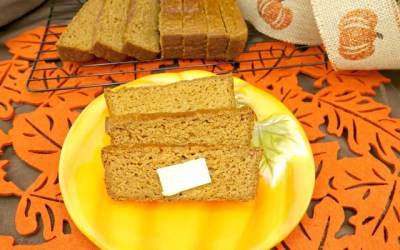 Easy Paleo Spiced Pumpkin Bread