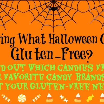 A list of gluten-free Halloween candies from top candy brands!