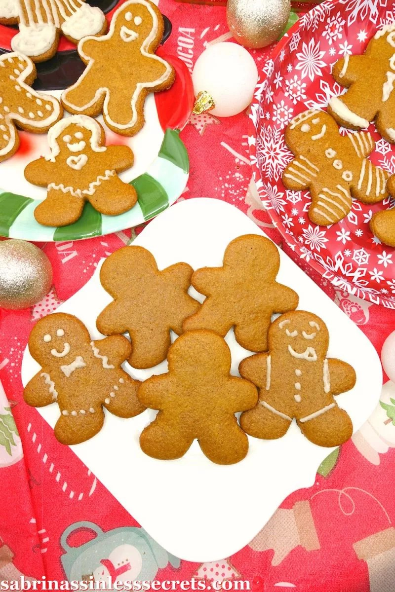Paleo And Vegan Cut Out Gingerbread Men Cookies Sabrina S Sinless