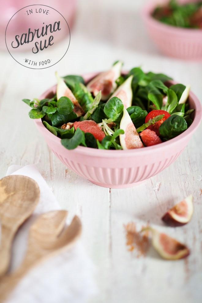 Spargel Feigen Salat