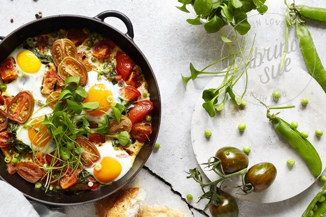 Tomaten Portulak Shakshuka