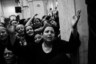 Funeral in Warraq's Virgin Mary church