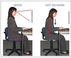 sitting posture, good sitting position, prevent back pain