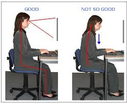 sitting posture, good sitting position, prevent back pain