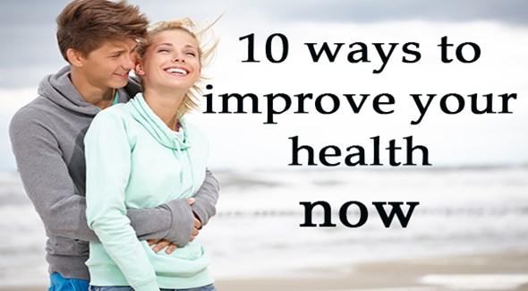 Ways to improve health