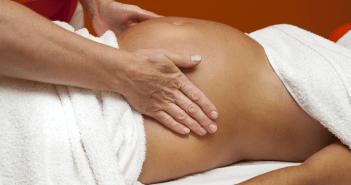 pregnancy stress massage therapy