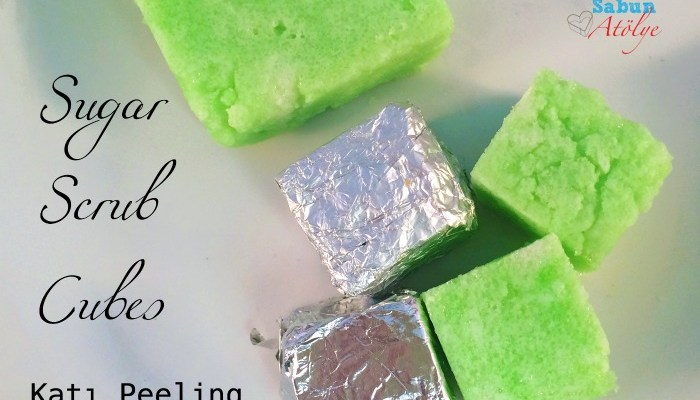 Anneler Günü Hazırlık: Sugar Scrub Cubes