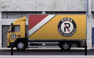 Logo, Graphic Design, Trucking