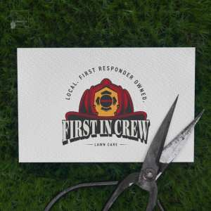 Logo, Graphic Design, Firefighter, Lawn Care, Marketing
