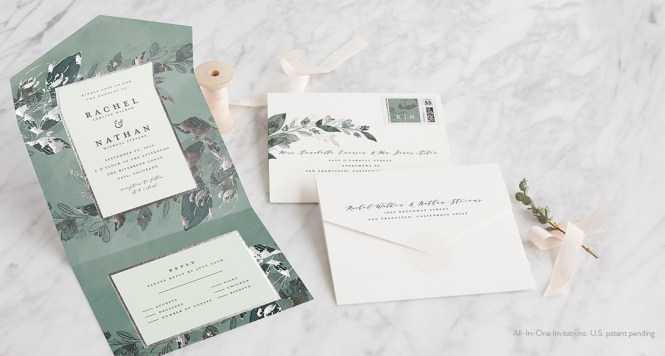 All In One Wedding Invitations Sacbride Com