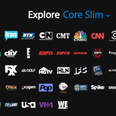 Core Slim ($34.99, 70+ channels)