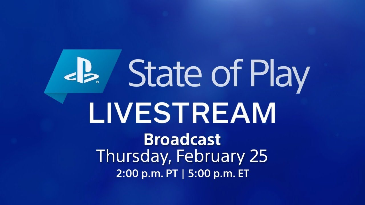 PlayStation State of Play Feb. 25, 2021