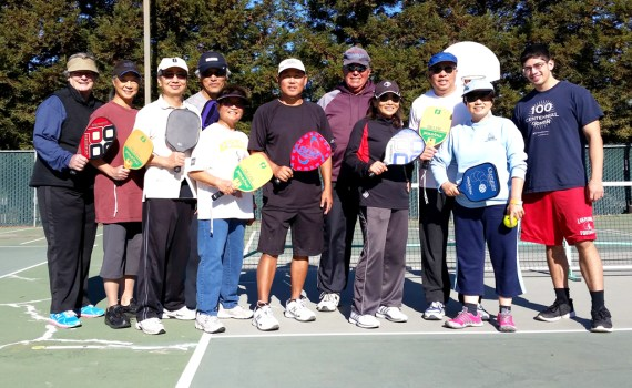 ACC Pickleball Group with Trysen