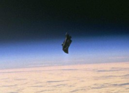 Black Knight image taken by NASA