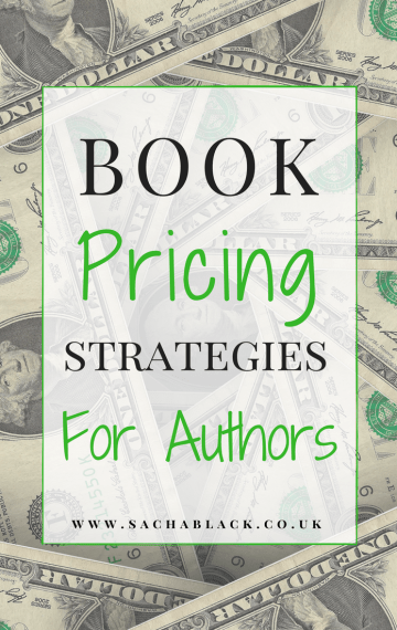 Book Pricing Strategies #MondayBlogs #amwriting