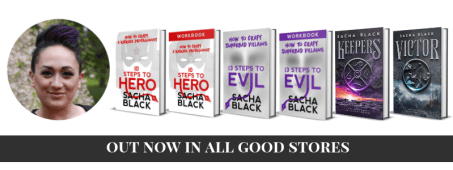 Image of all Sacha Black's books