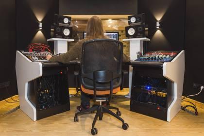 Project zero recording studio ©Sacha Jennis