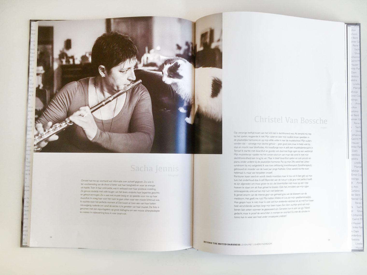 Bijdrage Fotoboek en expo Beyond the Muted Darkness