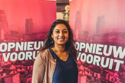 Jinni Heels, lijsttrekker GemRa Sp.A Antwerpen