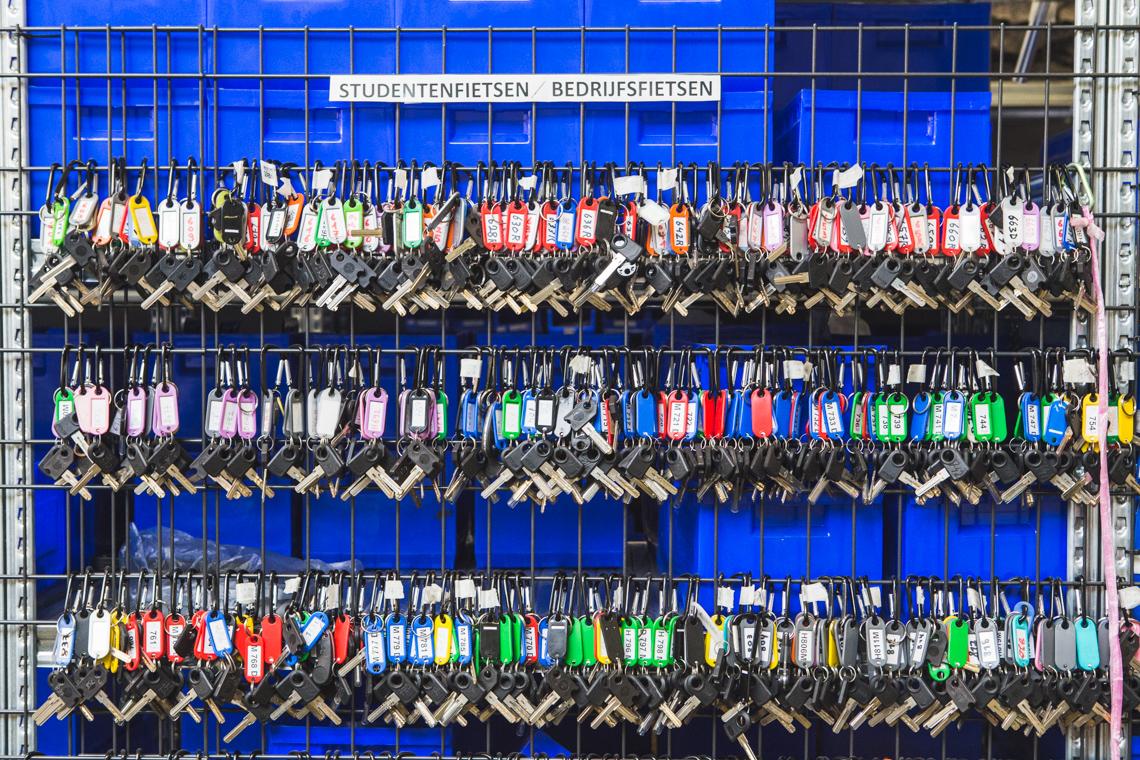 Levanto fietshaven - werkplaats