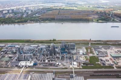 chemiebedrijf pijpleidingen antwerpen haven